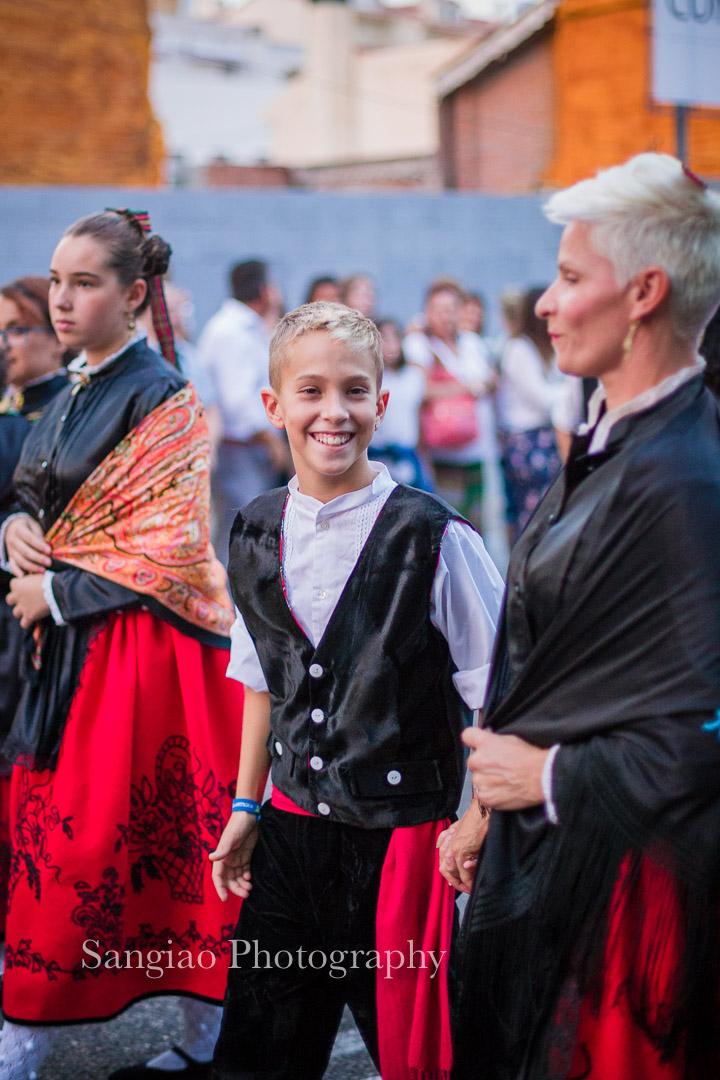 foto de familia fiestas tradicionales Guadalajara