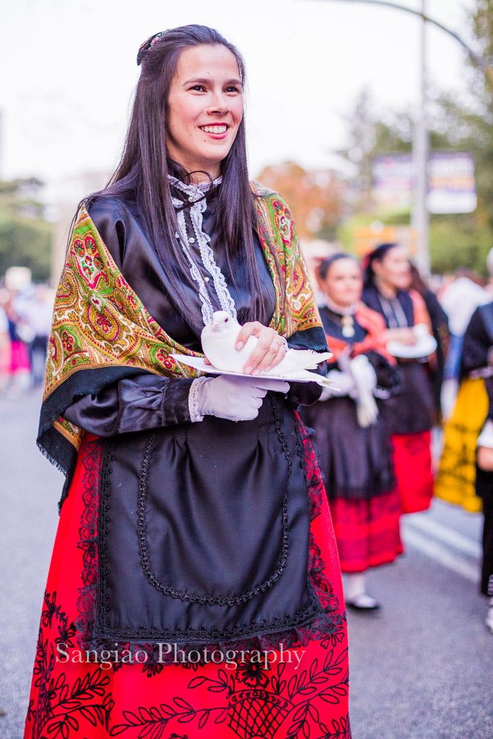 foto de mujer con traje tradicional Guadalajara