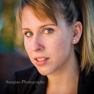 Foto perfil Linkedin corporativa mujer Madrid