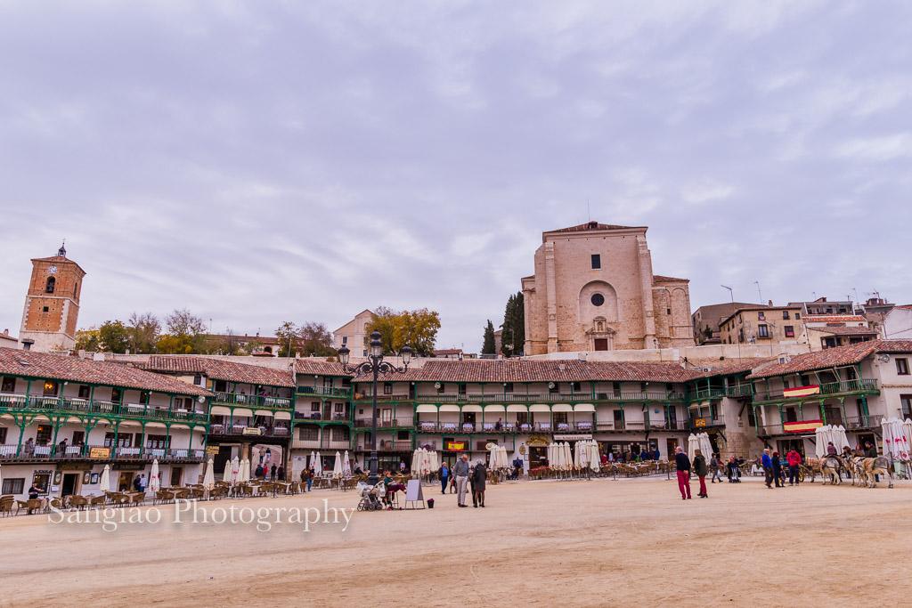 plaza mayor chinchón foto madrid