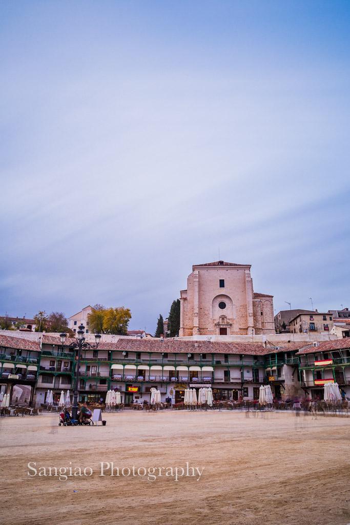 foto iglesia chinchón madrid fotógrafo