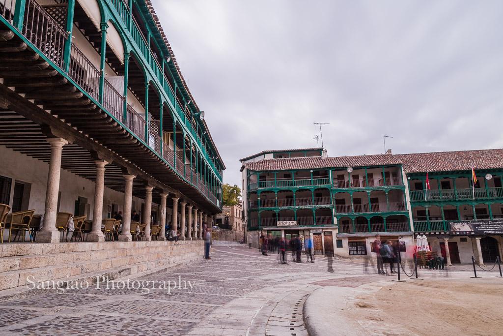 balcones madrid chinchón tradicional español
